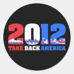 Take Back America 2012 Sticker