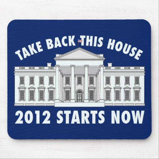 Take Back the White House Mousepad