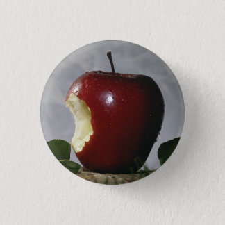 Take Bite Out Of Apple 3 Cm Round Badge