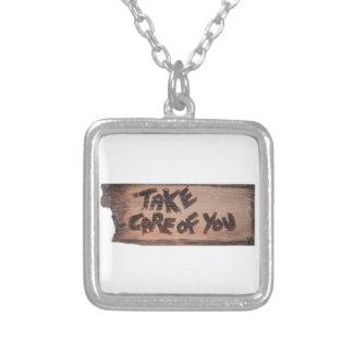 take care of you pendants