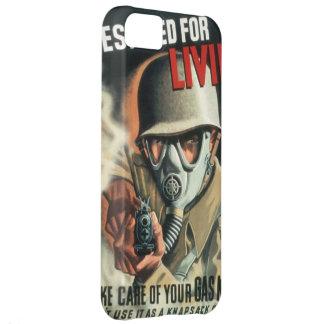 Take Care of Your Gas Mask iPhone 5C Cases