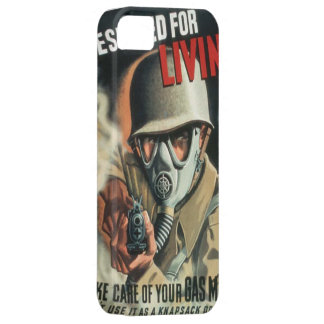 Take Care of Your Gas Mask iPhone 5 Covers