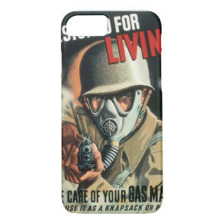 Take Care of Your Gas Mask iPhone 7 Case