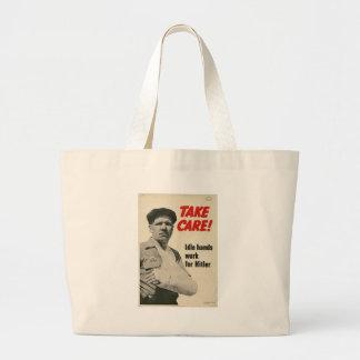 Take Care World War 2 Bag