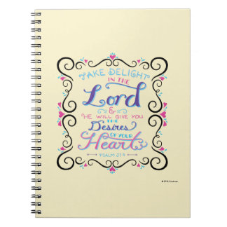 Take Delight in the Lord Notebooks