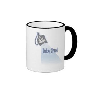 Take Five! Mugs