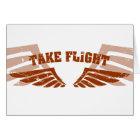 Take Flight Aviation Wings Card