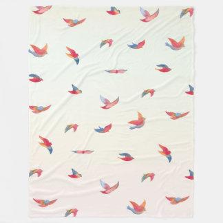 Take Flight - Large Fleece Blanket