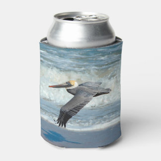 Take Flight! Pelican Can cooler. Can Cooler