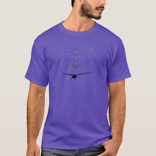 Take Flight Purple Tee