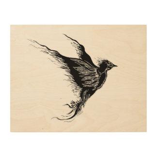Take Flight Wood Canvas