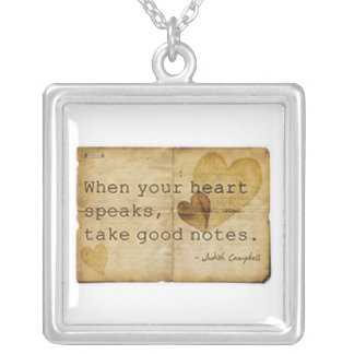 'Take Good Notes' Necklace