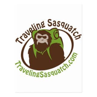 Take home a Traveling Sasquatch! Postcard
