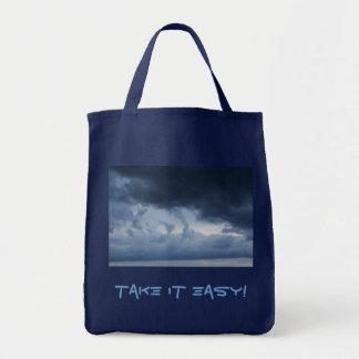 Take It Easy! bag into blue