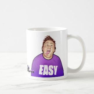 Take it EASY Basic White Mug