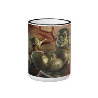 Take It Easy Ringer Mug