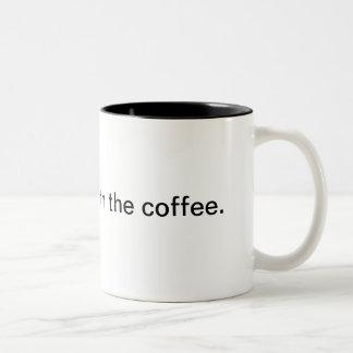 Take it easy. Two-Tone mug