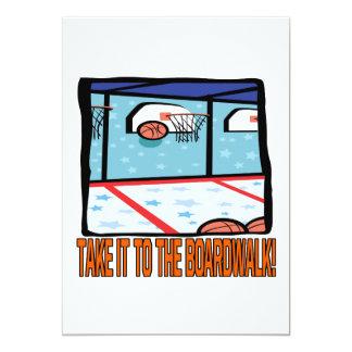 Take It To The Boardwalk 13 Cm X 18 Cm Invitation Card