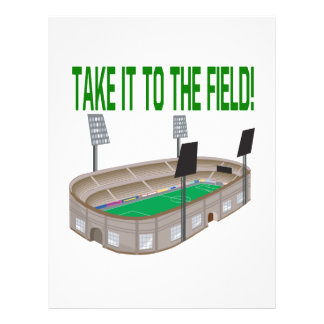 Take It To The Field Personalized Flyer