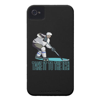Take It To The Ice iPhone 4 Cover