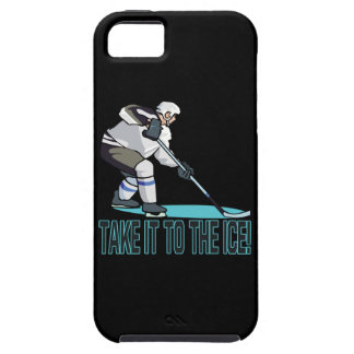 Take It To The Ice Tough iPhone 5 Case