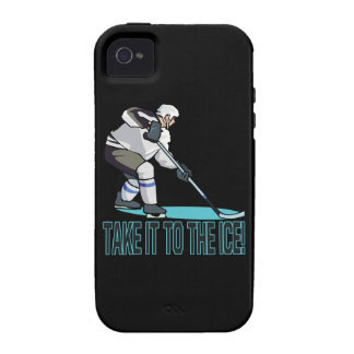 Take It To The Ice Vibe iPhone 4 Case