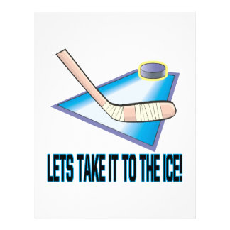 Take It To The Ice Custom Flyer