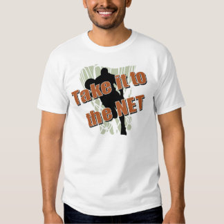 Take it to the Net basketball shirt
