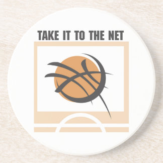 Take it to the Net T-shirts and Gifts Coaster