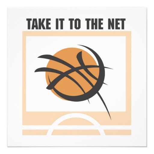 Take it to the Net T-shirts and Gifts Personalized Announcement