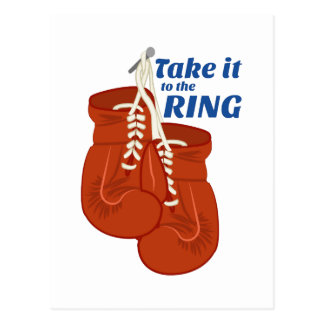 Take it to the Ring Postcards