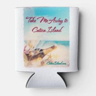 Take Me Away to Catica Island Drink Cozie