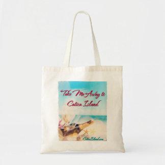 Take Me Away to Catica Island Tote Budget Tote Bag