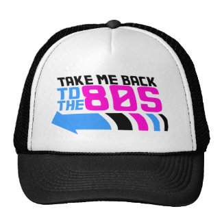 Take me Back to the 80s Cap