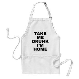 Take Me Drunk I'm Home Apron