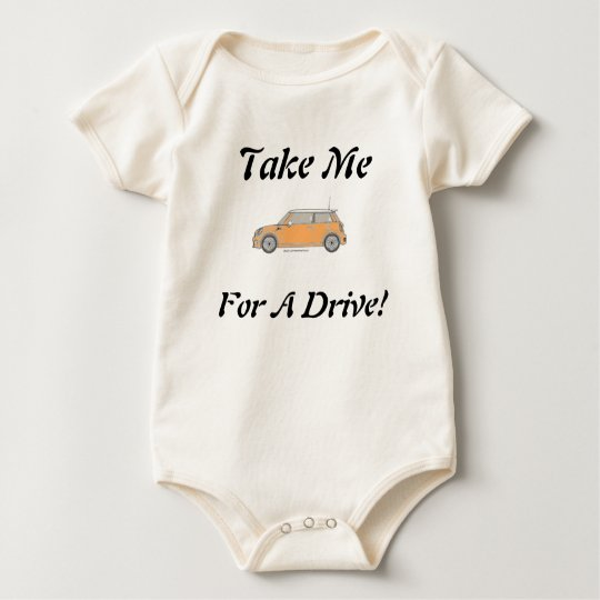 Take Me For A Drive! Baby Bodysuit