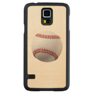 TAKE ME OUT TO THE BALL GAME! (baseball) ~ Carved Maple Galaxy S5 Case