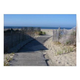 Take Me to the Beach! Card