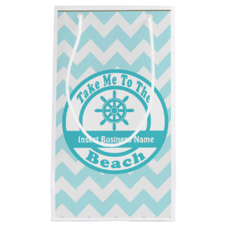 Take Me to the Beach Customizable Gift Bag