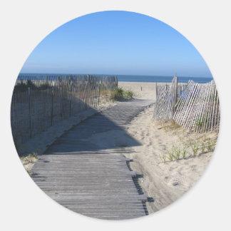 Take Me to the Beach! Round Sticker