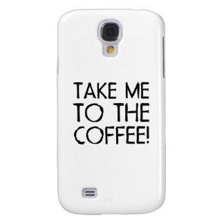 Take Me To The Coffee HTC Vivid Case