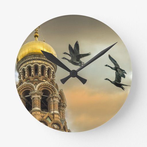 Take me to the Golden Domes Wall Clocks