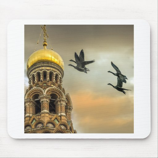 Take me to the Golden Domes Mouse Pads