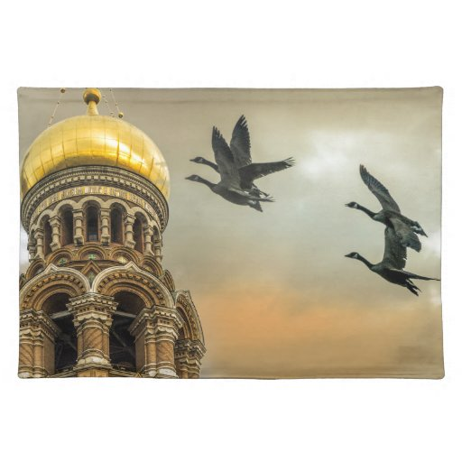 Take me to the Golden Domes Placemats