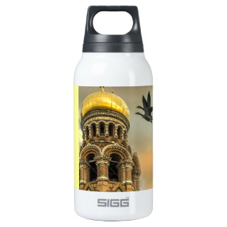 Take me to the Golden Domes 10 Oz Insulated SIGG Thermos Water Bottle