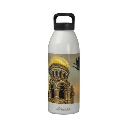 Take me to the Golden Domes Reusable Water Bottle