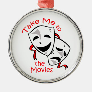 TAKE ME TO THE MOVIES CHRISTMAS ORNAMENTS