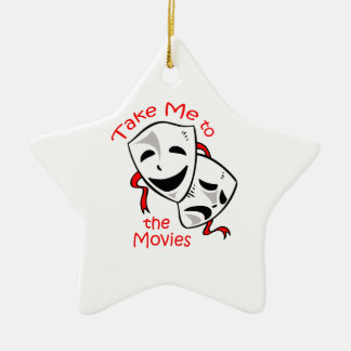 TAKE ME TO THE MOVIES CHRISTMAS ORNAMENT