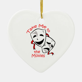 TAKE ME TO THE MOVIES ORNAMENTS