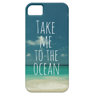 Take Me to the Ocean Barely There iPhone 5 Case